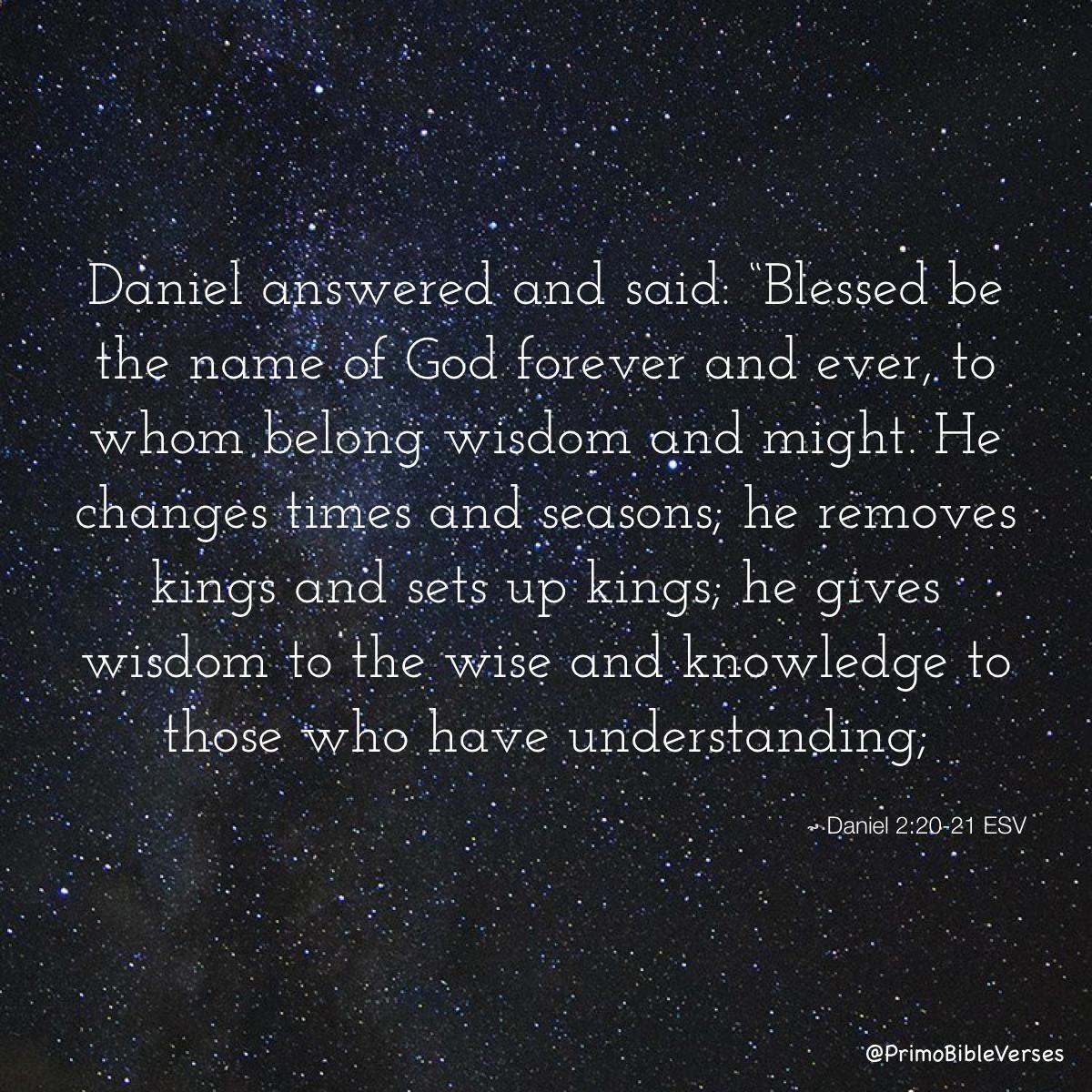Image result for Daniel 2:21 kjv