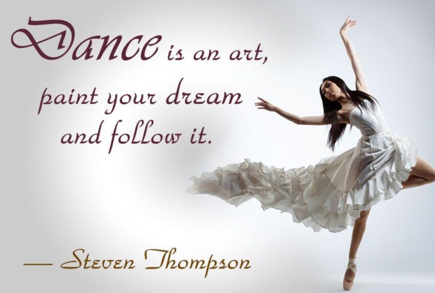 Inspirational Break Dance Quotes | Short dance quotes