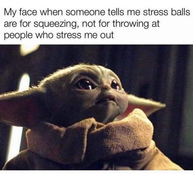 Baby Yoda It Memes On Instagram Double Tap Dm For Promos Shoutouts From My Favourite Account Mememasterabby Al Yoda Funny Funny Star Wars Memes Yoda Meme