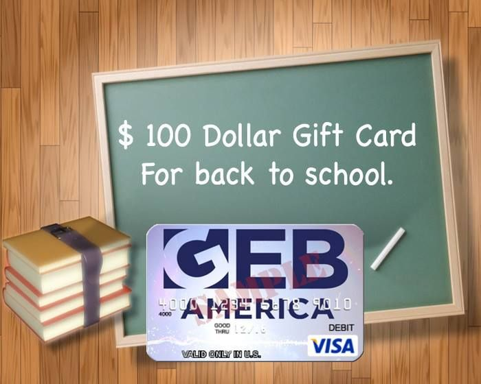 We're celebrating the start of the 2014 Back to School season by giving away $100! Use this for books, supplies, whatever your school needs may be.  Enter to win!