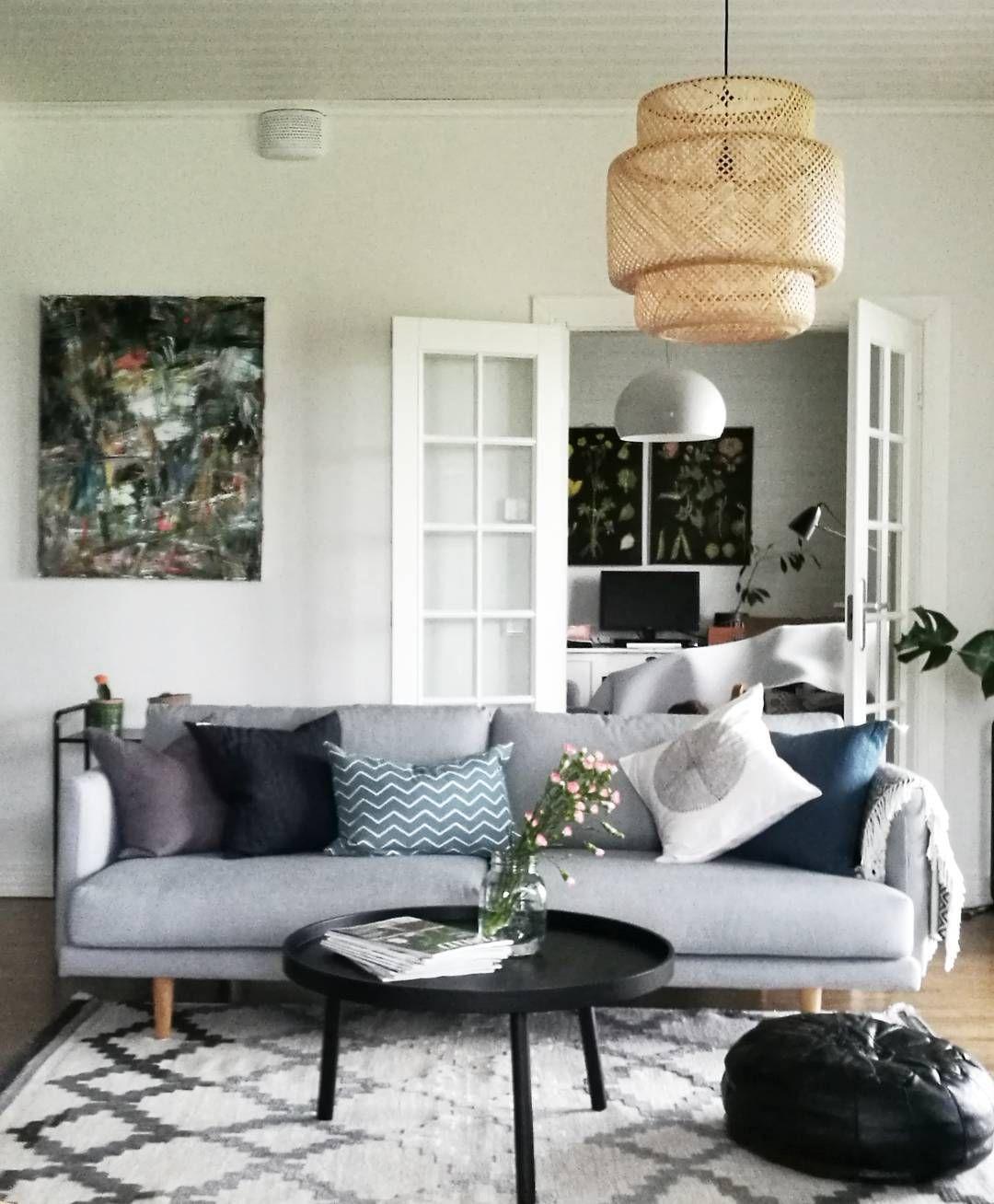 Living Room Lighting In Sri Lanka: Ikea 'Sinnerlig' Pendant Lamp IG:callithomeblog