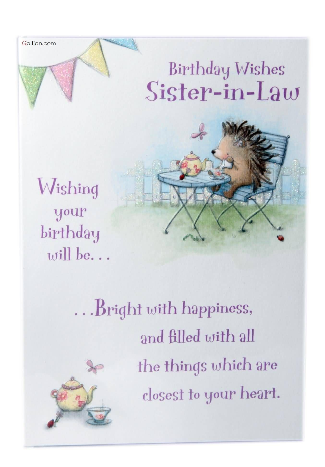 most beautiful birthday wishes for sister law best quotes – Funny Birthday Greetings for Sister in Law