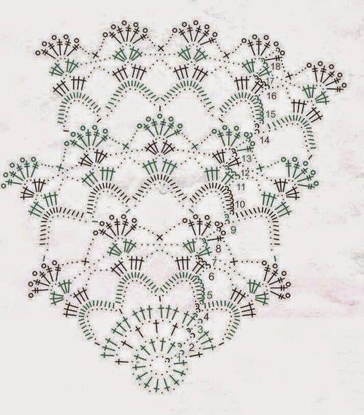 mantel2.jpg (531×604) | cалфеточное,пледы,мотивы квадрат | Pinterest ...