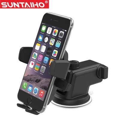 Mobile Cell Phone Holder for Car Suntaiho Car Phone Holder Suction ...