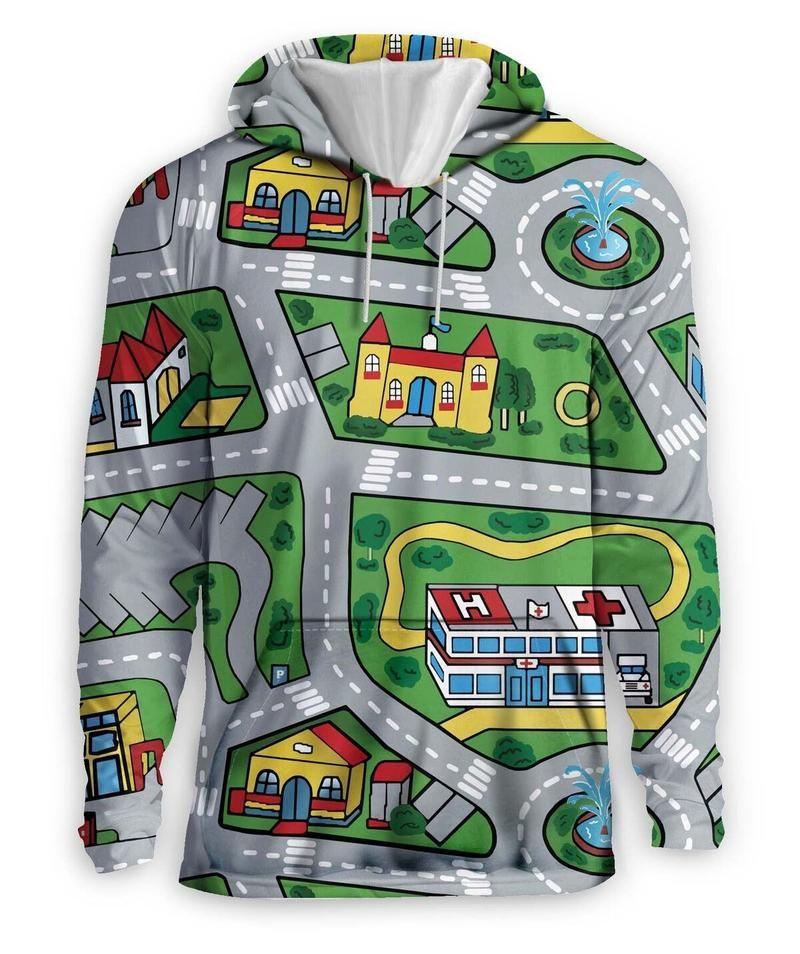 Car Carpet City Hoodie