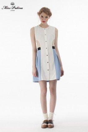 Wimbledon Dress(blue) (2)