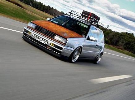 Rat Rod German Cars This Car Inspiration Golf Mk3 Rat Rod