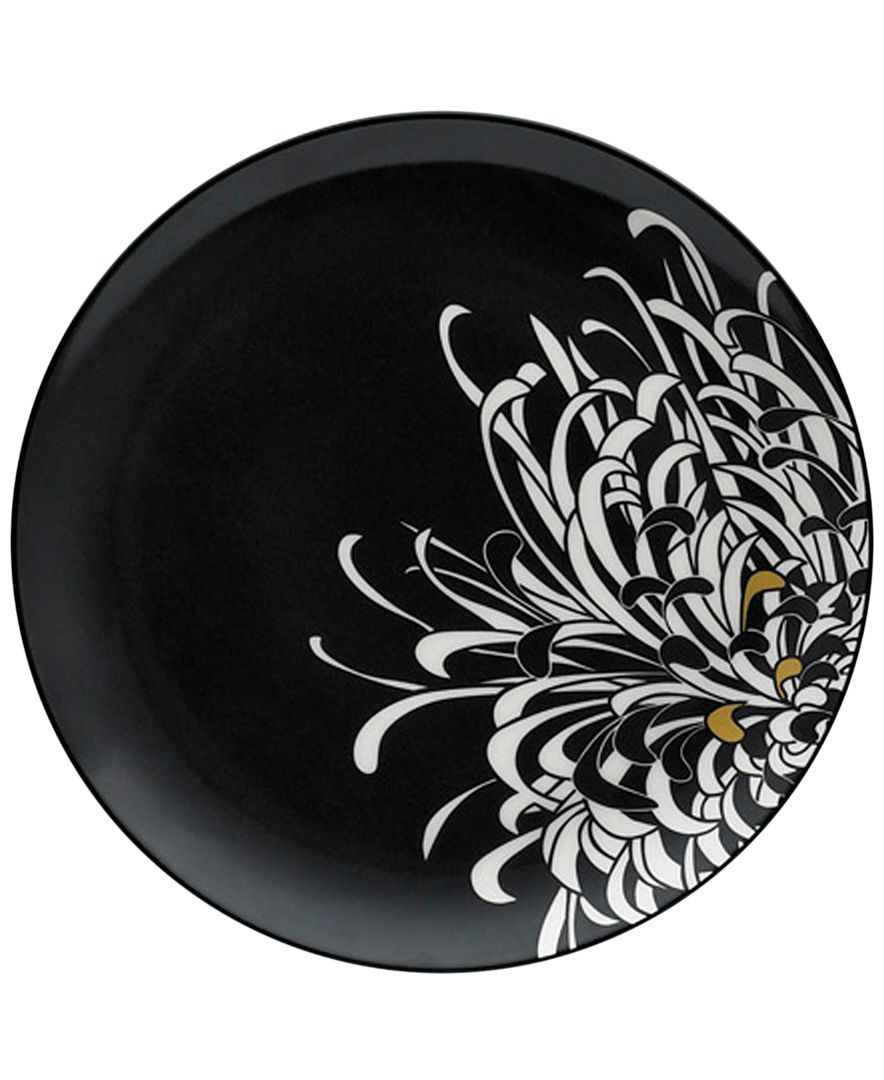 Monsoon Dinnerware Collection by Denby Chrysanthemum Charcoal Salad Plate  sc 1 st  Pinterest & Monsoon Dinnerware Collection by Denby Chrysanthemum Charcoal Salad ...