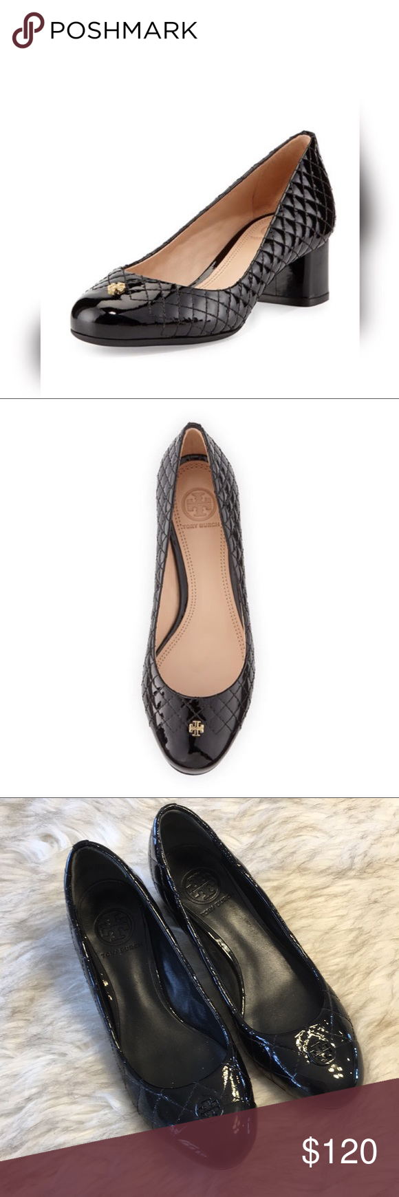 fe8d5d0c3d83 Tory Burch Kent Patent Leather Quilted Pumps Such beautiful pumps! In  beautiful condition. Only