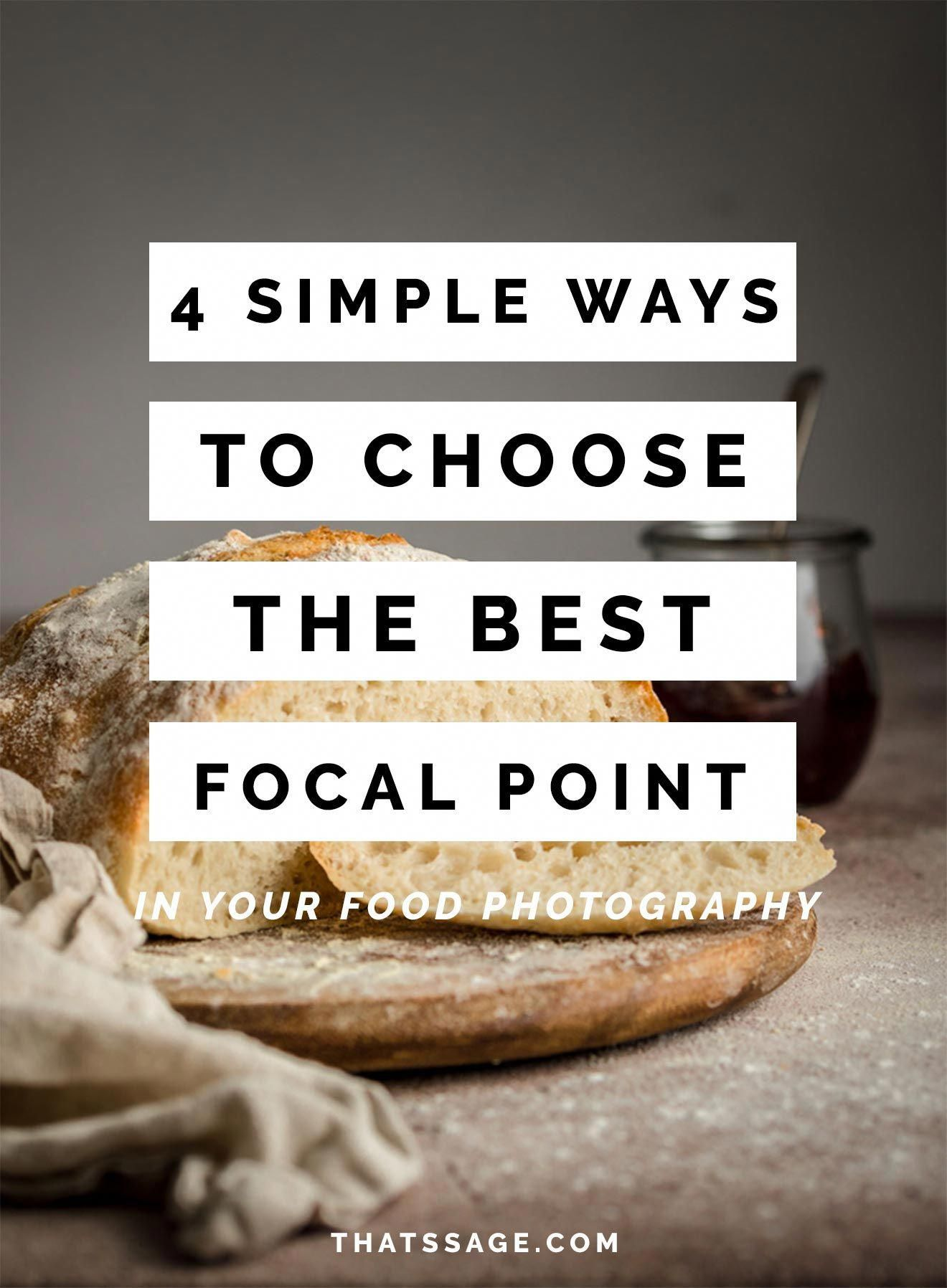 Getting The Focal Point Right On Your Food Photos Is Important If You A Food Photo Food Photography Tutorial Food Photography Background Dark Food Photography