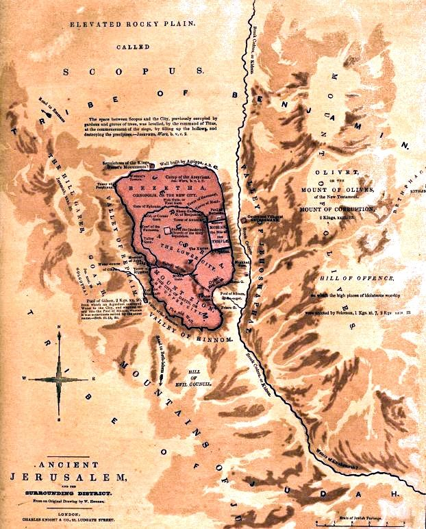 An 1845 map of Ancient Jerusalem identifying Mount Zion with ... Mount Moriah Map on carter notch map, carroll map, mount hermon map, mount ebal map, mount carrigain map, land of moriah map, st. john's map, mount calvary map, mount paran map, mount zion, huntington ravine map, the mount of olives map, monadnock state park trail map, mount shechem map, golgotha map, moriah trail map, mount chocorua map, obion county map, mount marathon map, temple mount map,