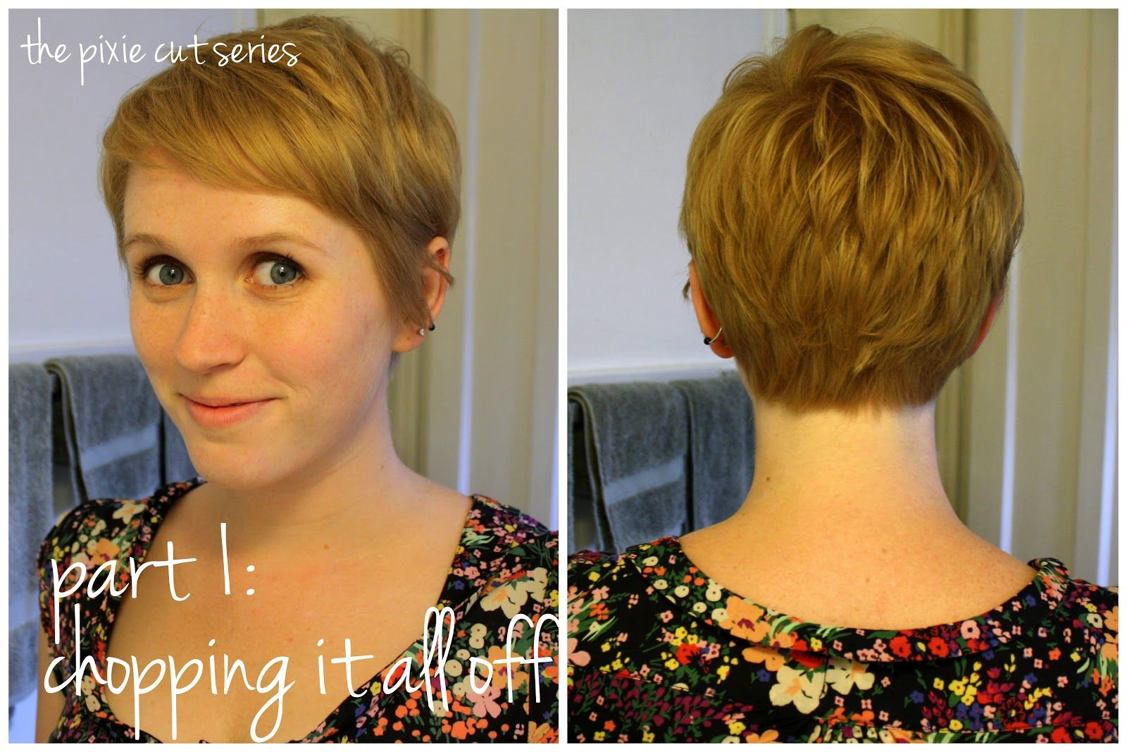 Unspeakable visions the pixie cut series part chopping it all