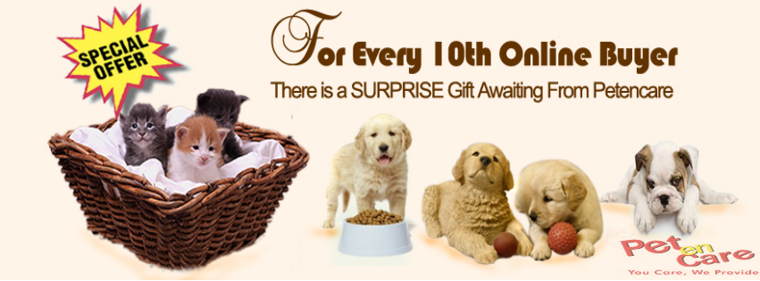For Every 10th Online Buyer There Is A Surprise Gift Awaiting From Petencare Visit Our Website For Online Shopping Of Pet P Food Animals Pets Surprise Gifts