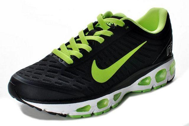 size 40 15c74 cd673 Nike Air Max Tailwind +5 Men s Black Green Hombres Negros, Zapatillas Hombre ,