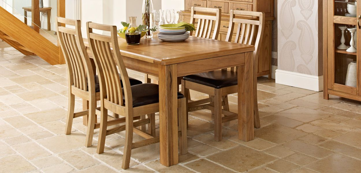 Calais Harveys Furniture Dining TableDining Room