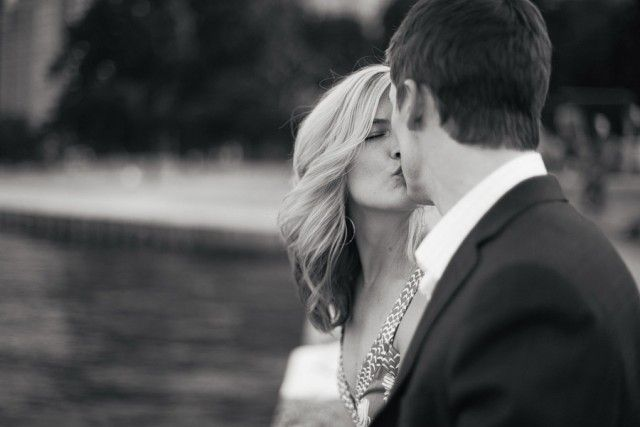 Engagement Photos in Millennium Park by Erica Rose Photography