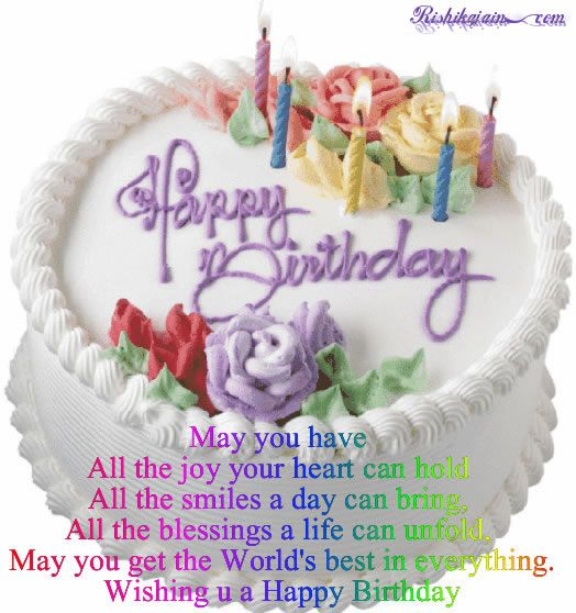 Happy Birthday Wishes Quates Friends