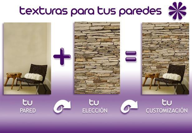Vinilos con texturas para decorar tus paredes ❷❺ DIY