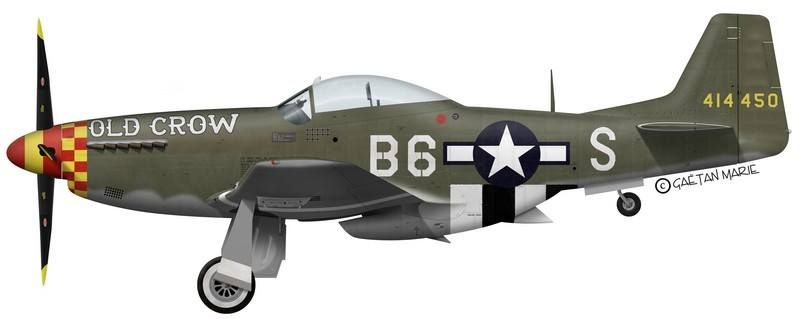 'OLD CROW' P-51D-10-NA, Late 1944