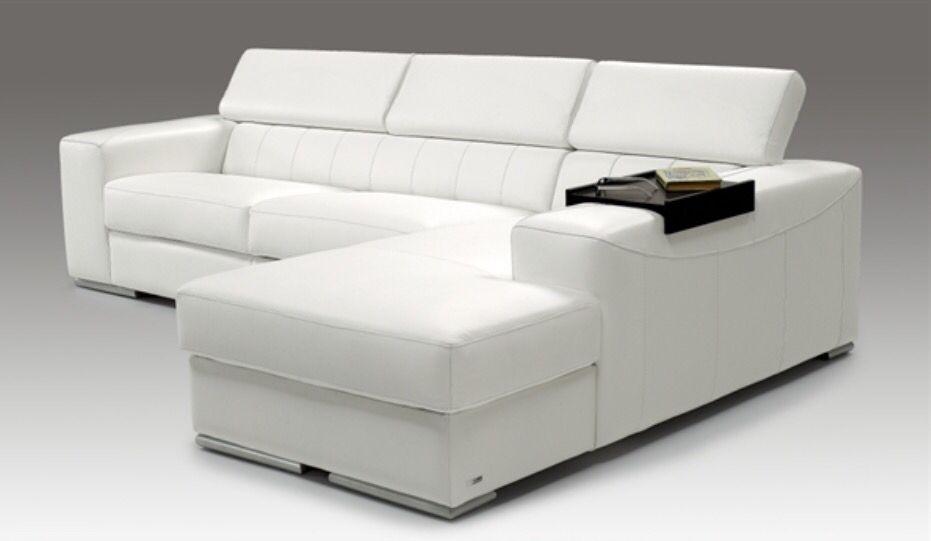 Divano letto bianco moderno http://www.seduzionesofa.com/promozione ...