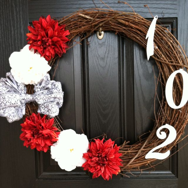 Wreath but with Dorm numbers.