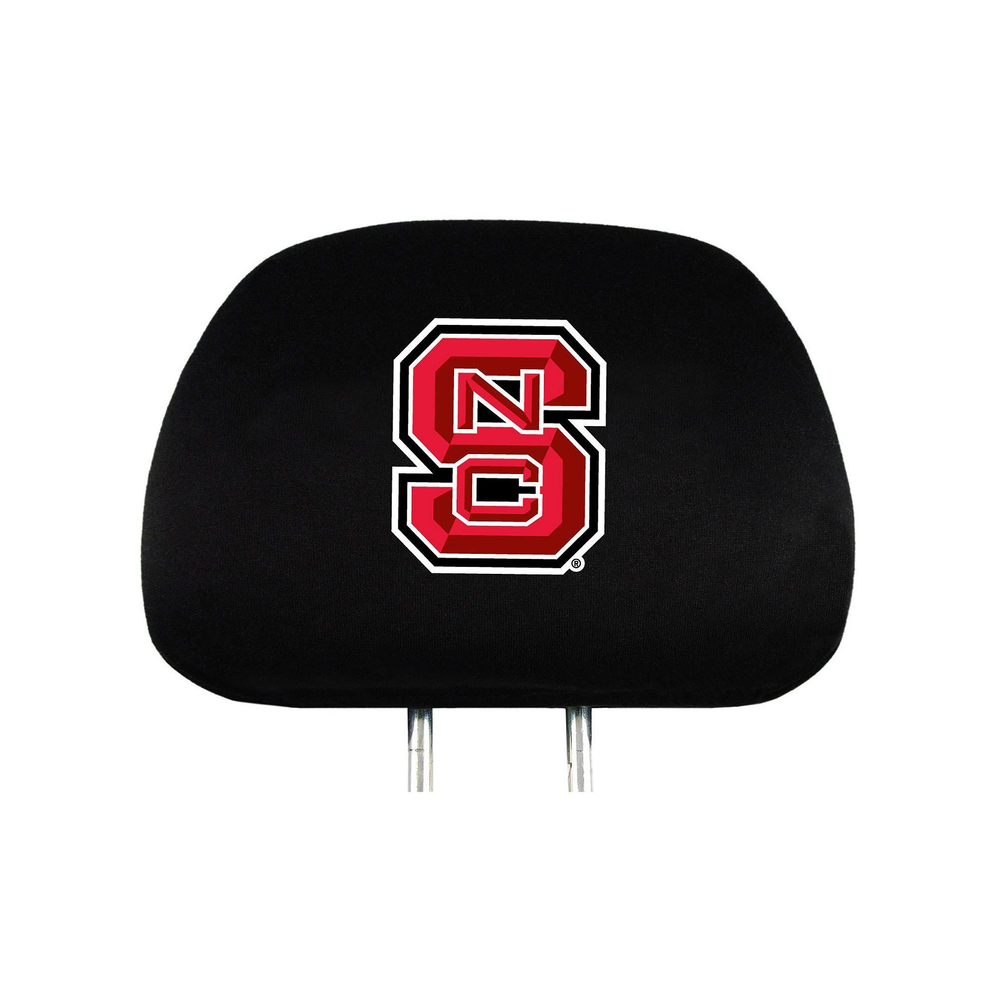 North Carolina State Wolfpack Head Rest Covers, Multicolor