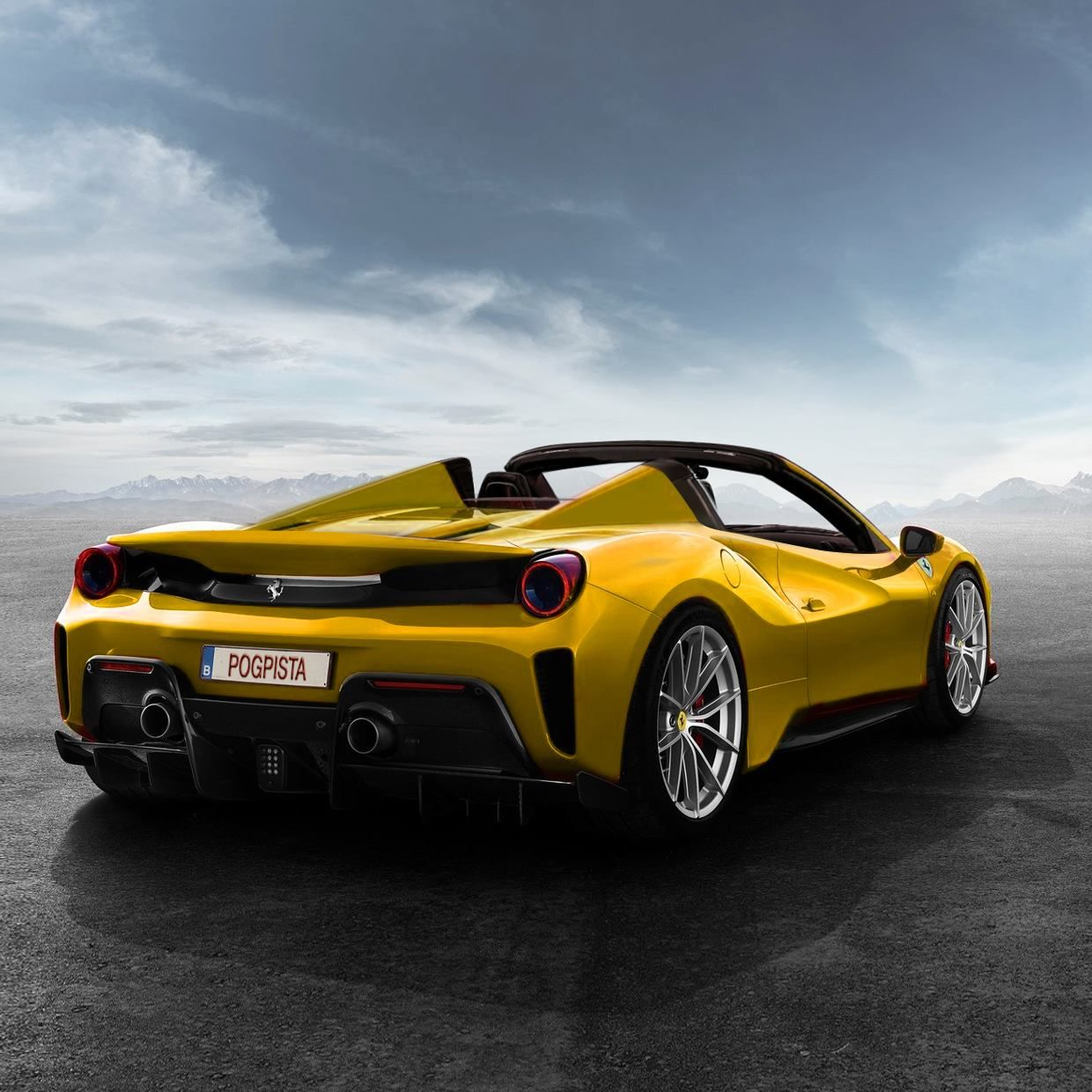 Ferrari 488 Pista Rendered As Open Top And Could Be Named Aperta