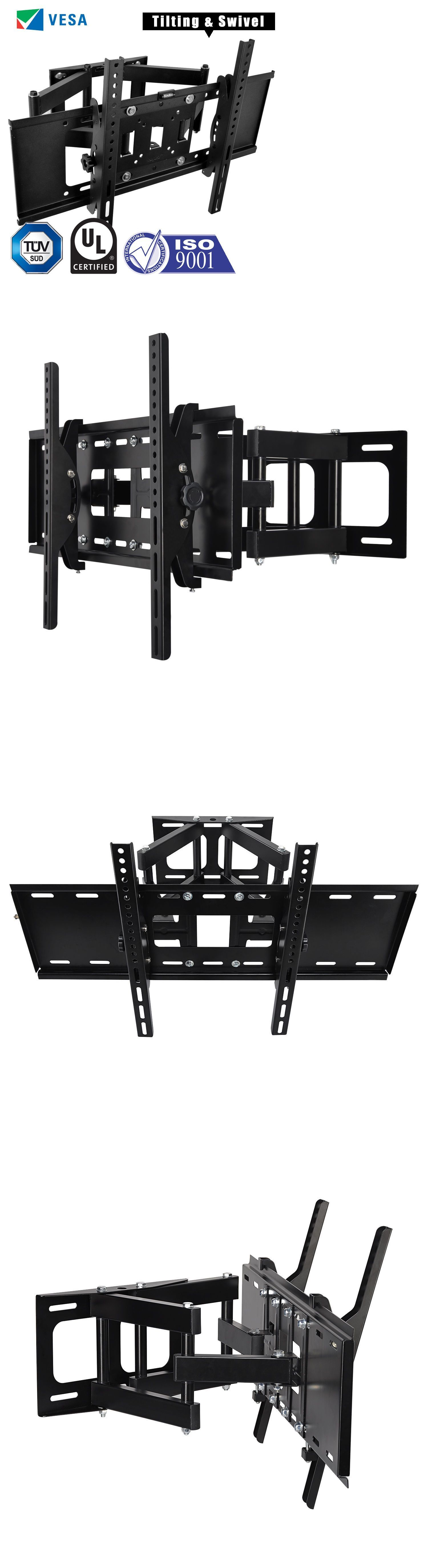 Elegant TV Mounts And Brackets: Articulating Swivel Tilt Full Motion Tv Wall Mount  Bracket 32 42