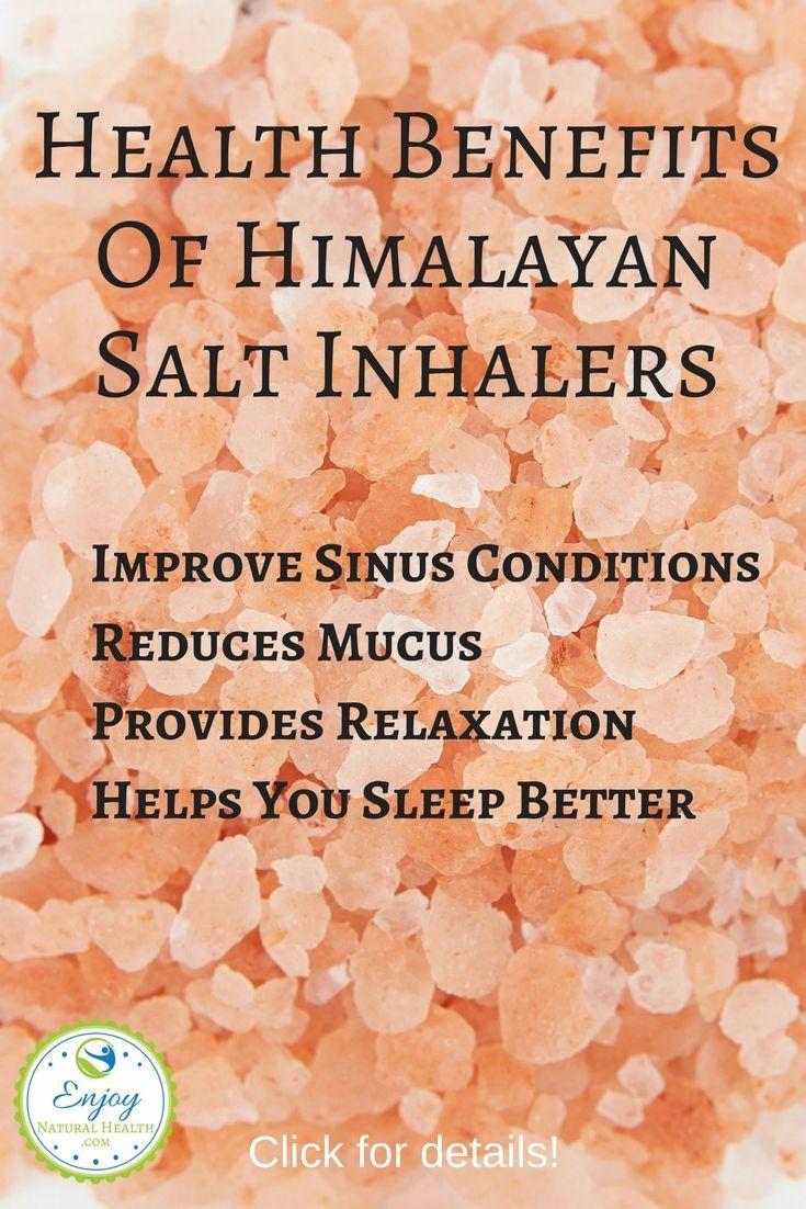 Health benefits of himalayan salt inhalers himalayan