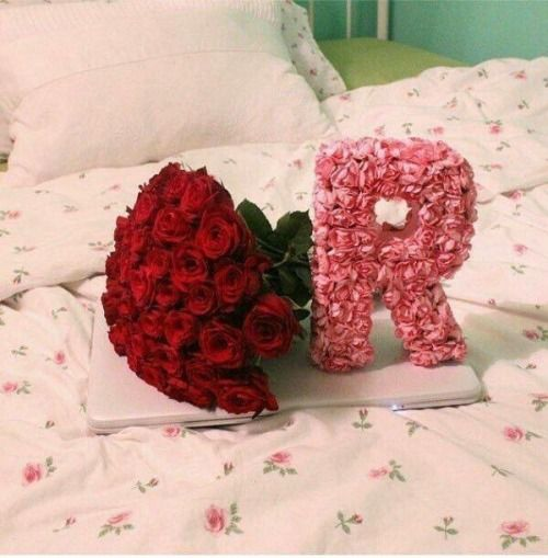 Ana Rosa Floral Letters Flower Letters Alphabet Design