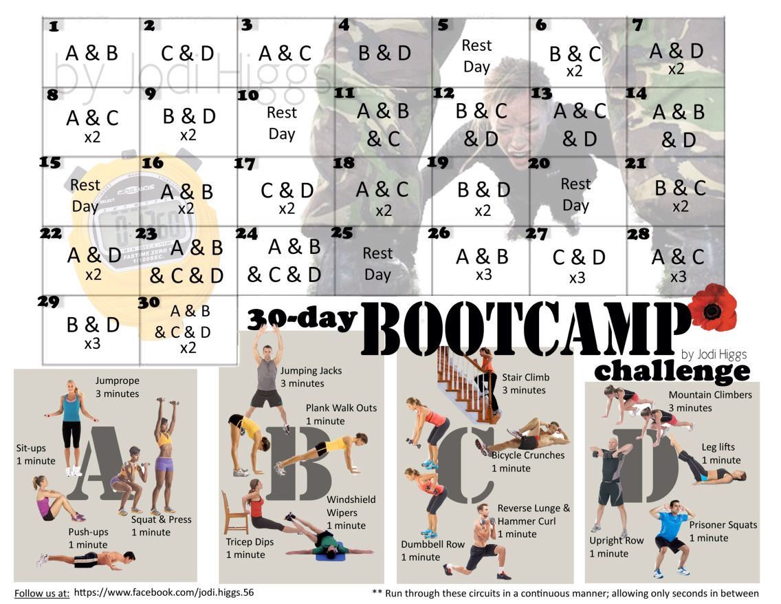 Try This Bootcamp Challenge Workout Try This Bootcamp Challenge Workout new photo