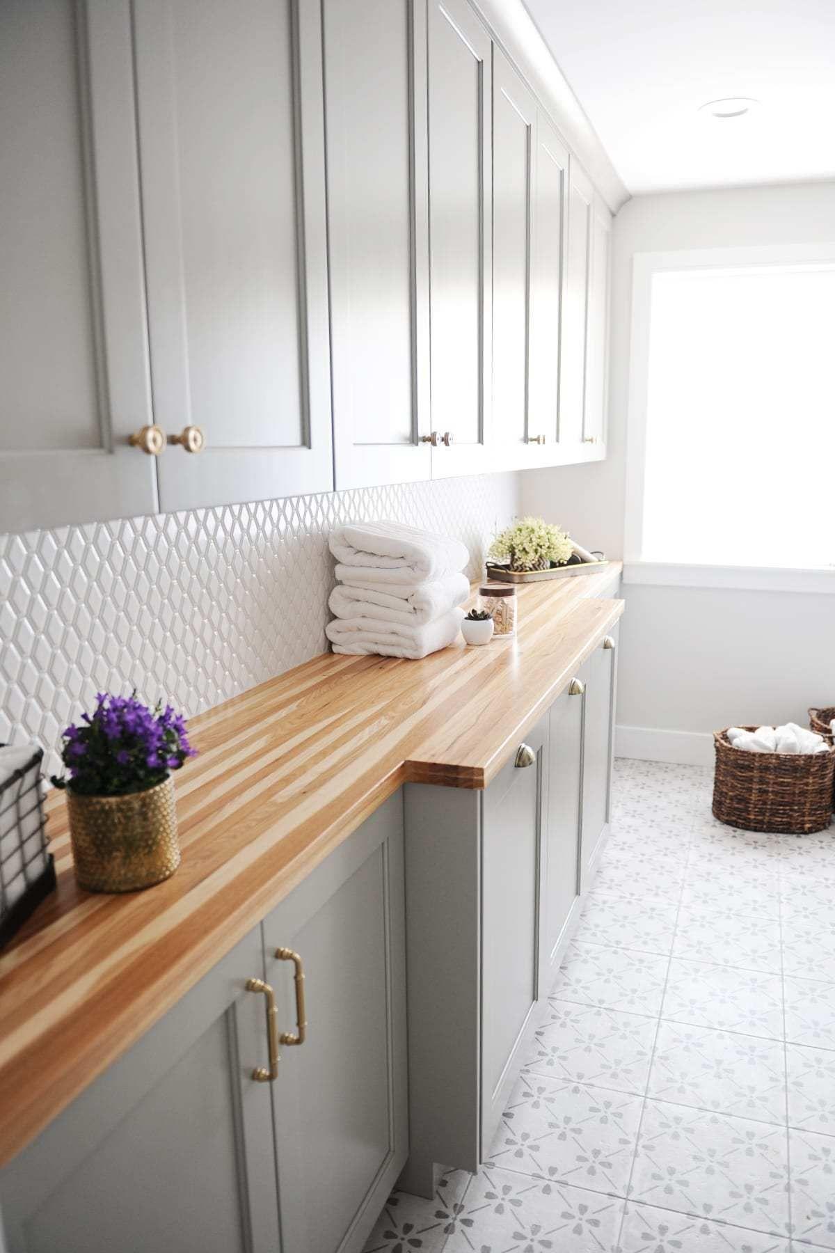 Rooms We Love Blogger Home Tour Laundry Room Tile Room Tiles Design Laundry Room Flooring