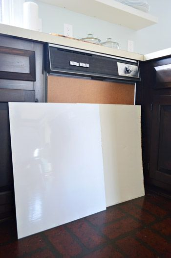 The Easiest Fastest Dishwasher Update Ever Young House Love Dishwasher White Dishwasher Cover Appliance Makeover