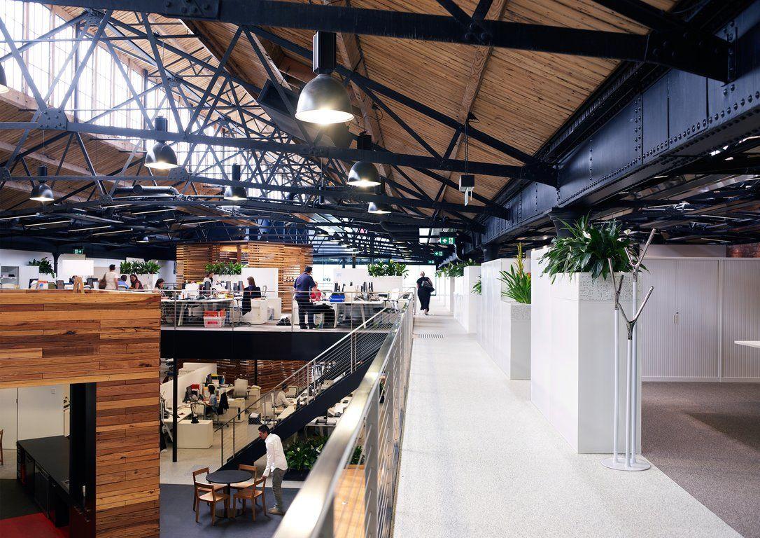 Office Tour Goods Shed North Renovation Melbourne Australia Adaptive Reuse Pinterest