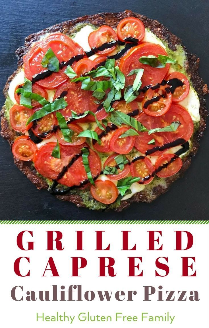 best of both worlds-- pizza + caprese salad in one quick and easy dinner! Gr... - Gluten Free Meals: Savory Recipes -