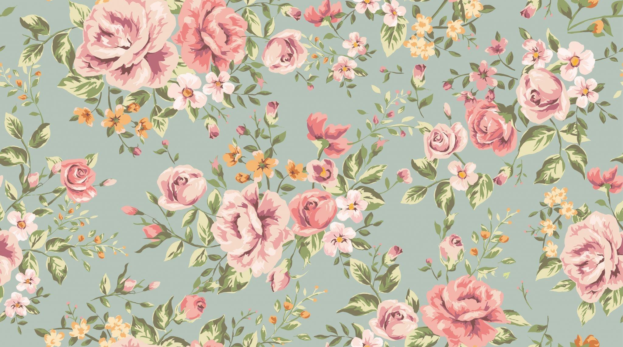 Vintage Flower Hd Backgrounds Vintage Floral Backgrounds Vintage Floral Wallpapers Floral Wallpaper