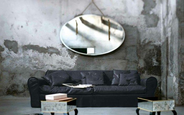Baxter Sofa Ledercouch Italienische Möbel Beistelltische Designer