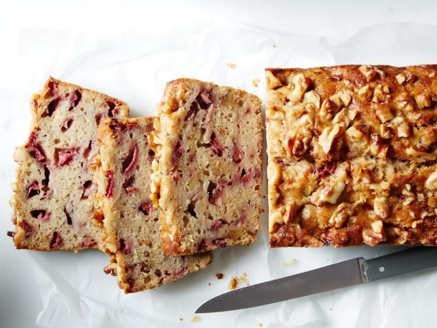 Strawberry banana bread recipe strawberry banana bread banana get food network kitchens strawberry banana bread recipe from food network forumfinder Images