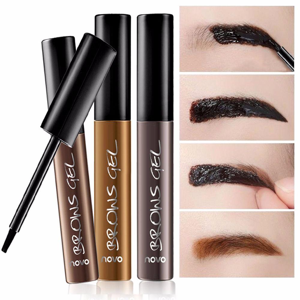 Ablösen Augenbraue Enhancer Farbton Gel Long Lasting Makeup Augenbrauen Creme Farbstoff Farben