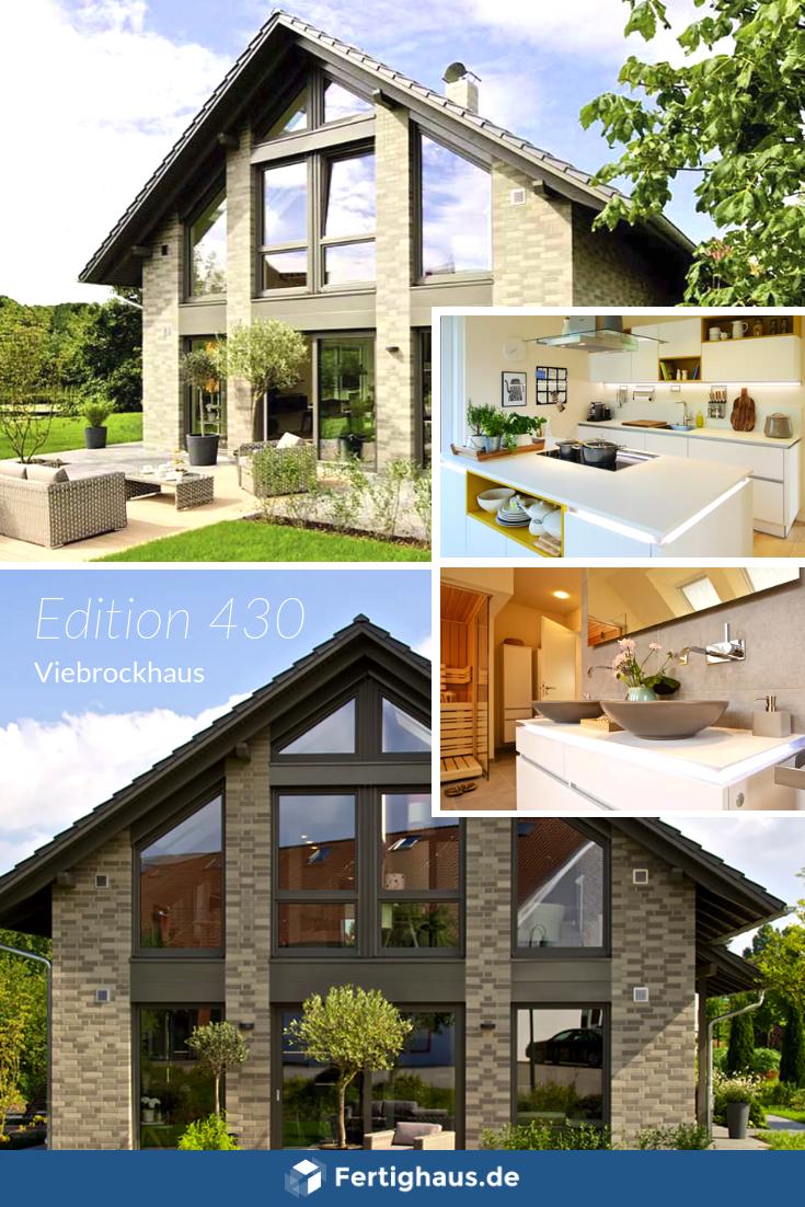 Massivhaus 'Edition 430' von Viebrockhaus überzeugt als