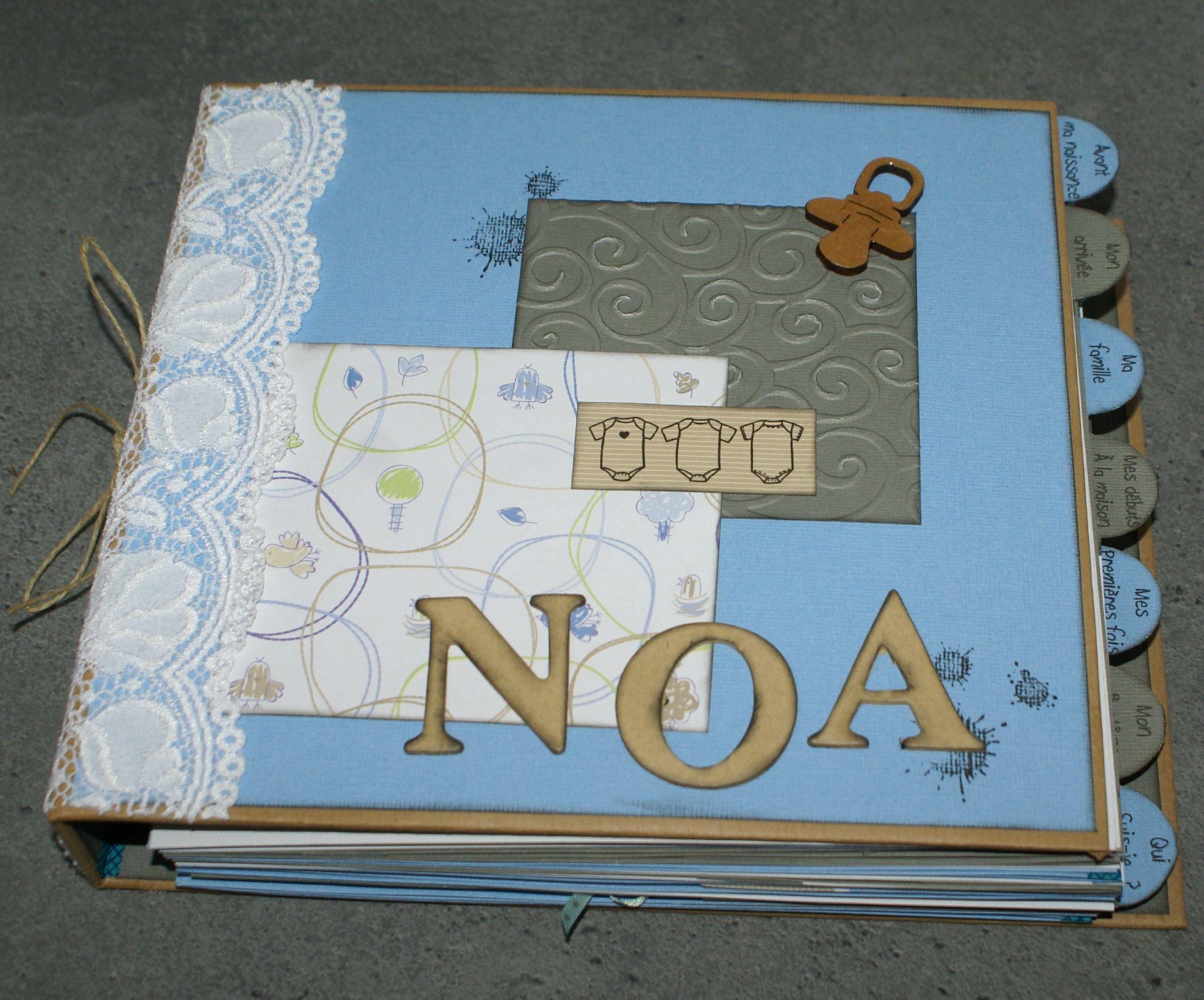 un livre de naissance l 39 atelier scrap de c line album de naissance pinterest scrap. Black Bedroom Furniture Sets. Home Design Ideas