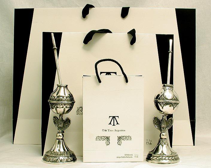 mates de plata de Jorge Pablo Pallarols
