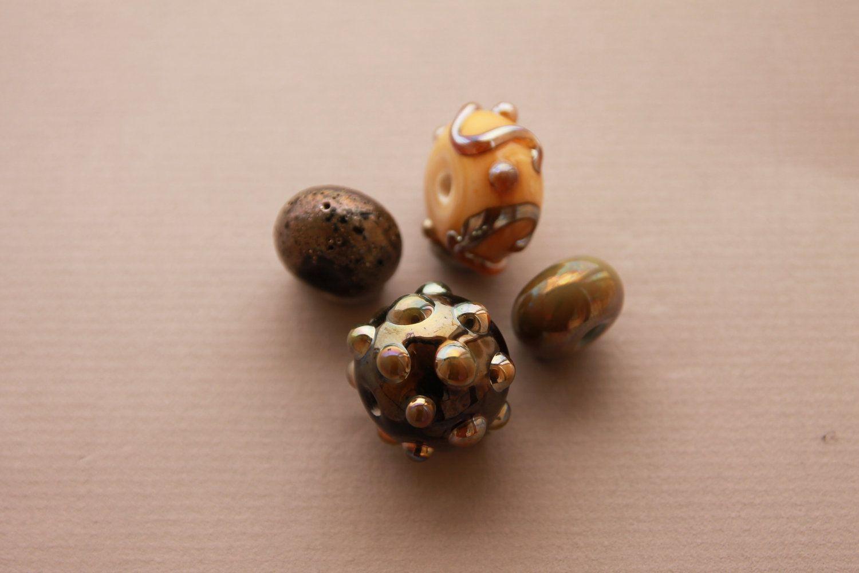 #Lampwork #Glass #Beads by BeadyEyedBird on Etsy, $18.00