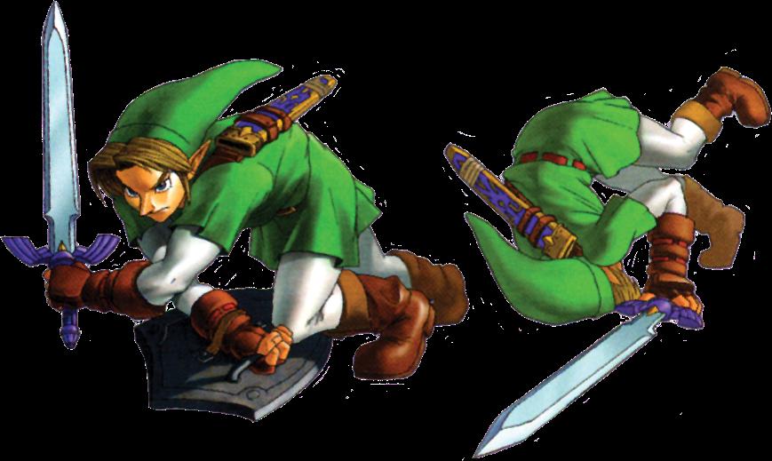 File Link Roll Oot Png Zelda Wiki Zelda Zelda Characters Character