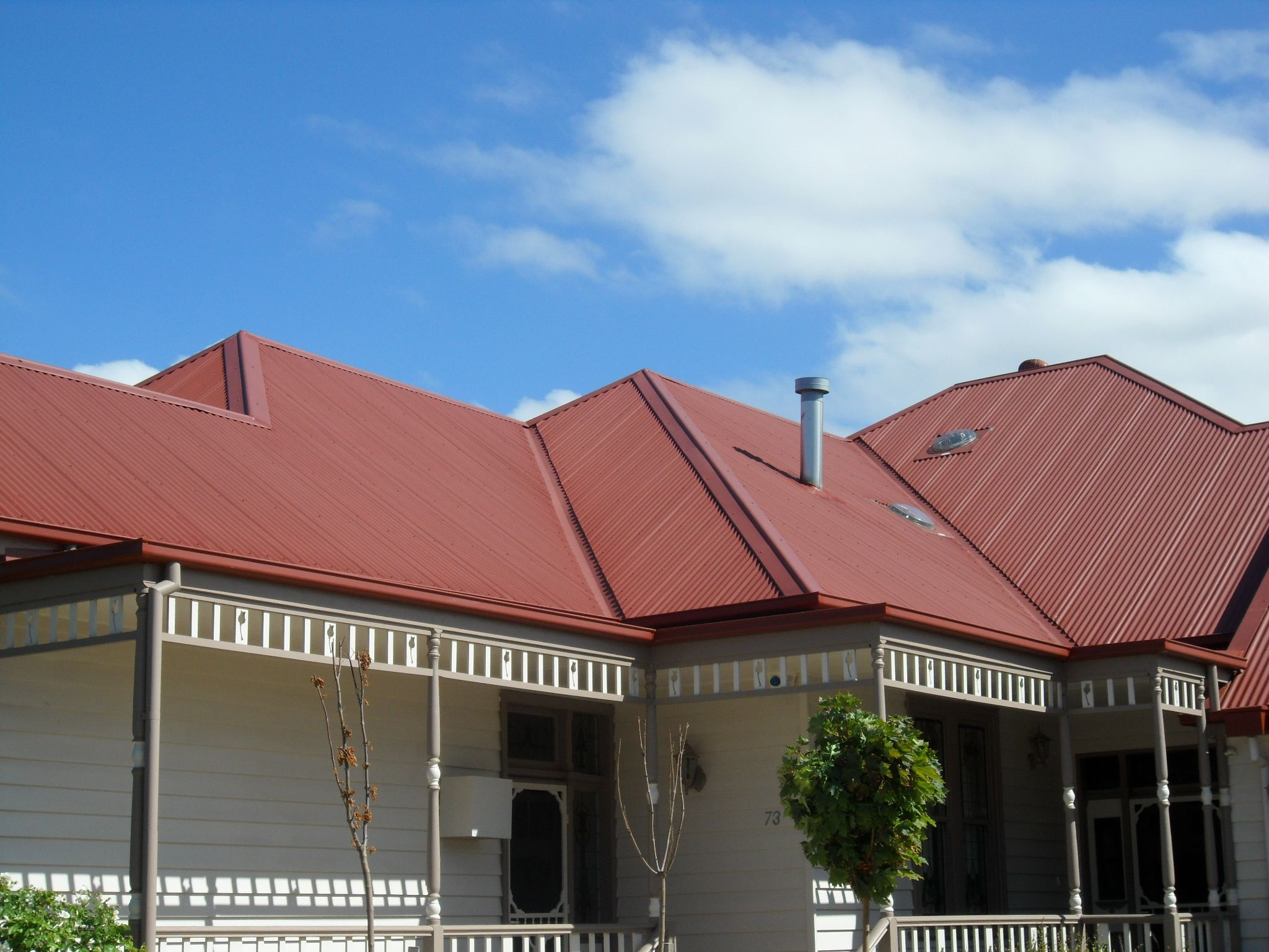 What Colour To Paint A House With A Red Roof Australia