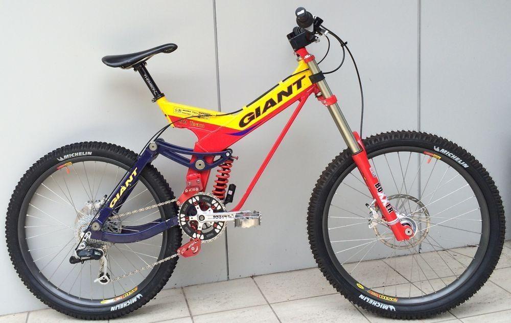 1996 Giant Atx Vintage Mountain Bike Mtb Bicycle Downhill Bike