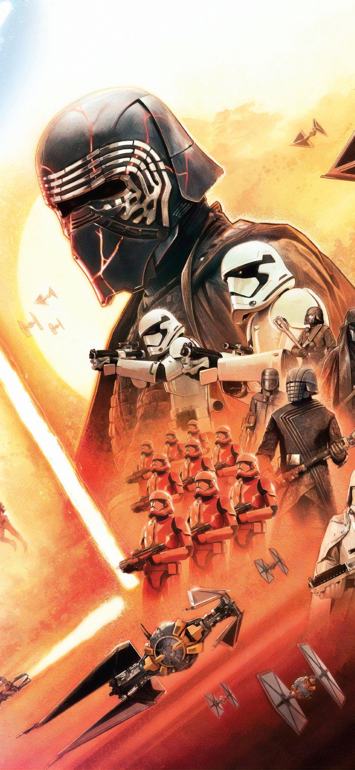 Star Wars The Rise Of Skywalker Star Wars Wallpaper Star Wars Watch Star Wars Painting