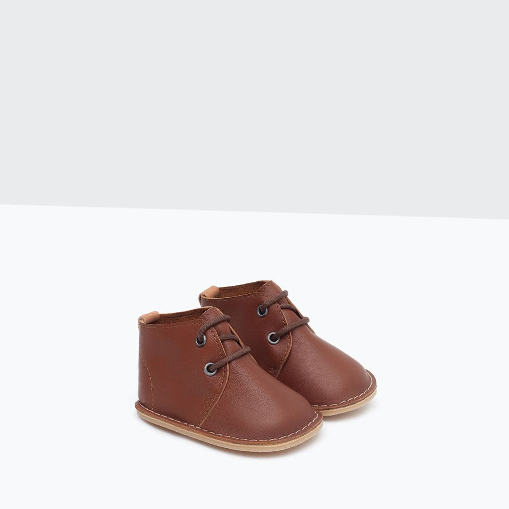 LEATHER BOOT-Shoes-Mini | Newborn-12 months-KIDS | ZARA United States