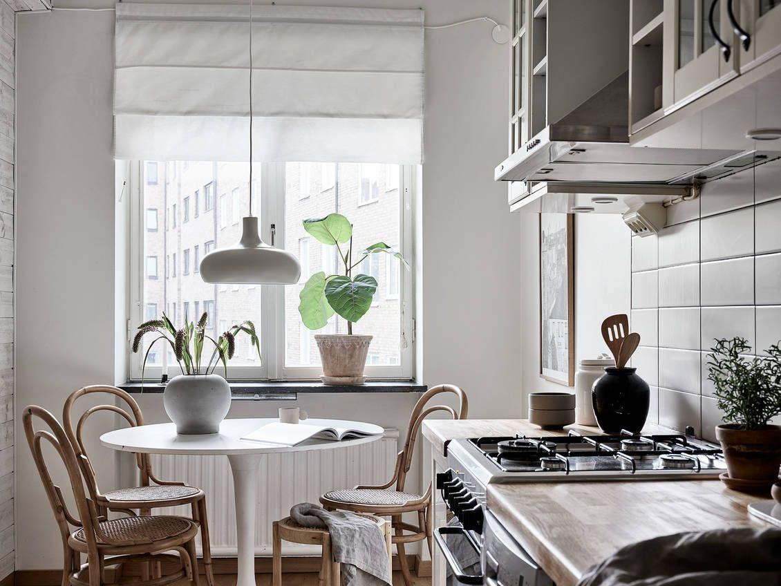 Charmig, ljus och insynsfri lägenhet mitt i stan med