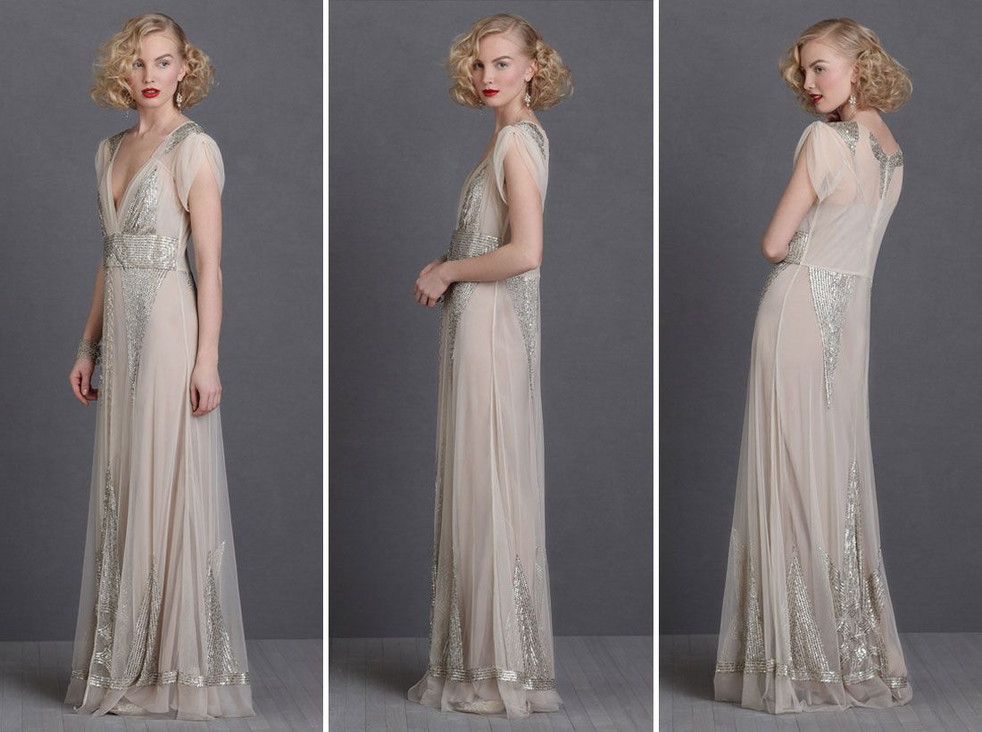 NonTraditional Wedding Dresses for the Modern Bride via Brit